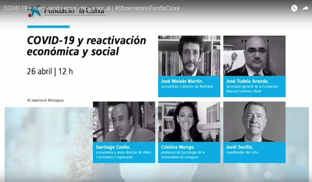 COVID19, Next Generation UE y reactivación económica y social